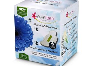 Everteen Natural Cotton Sanitary Napkins