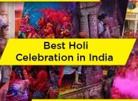 Best Holi Celebration in India