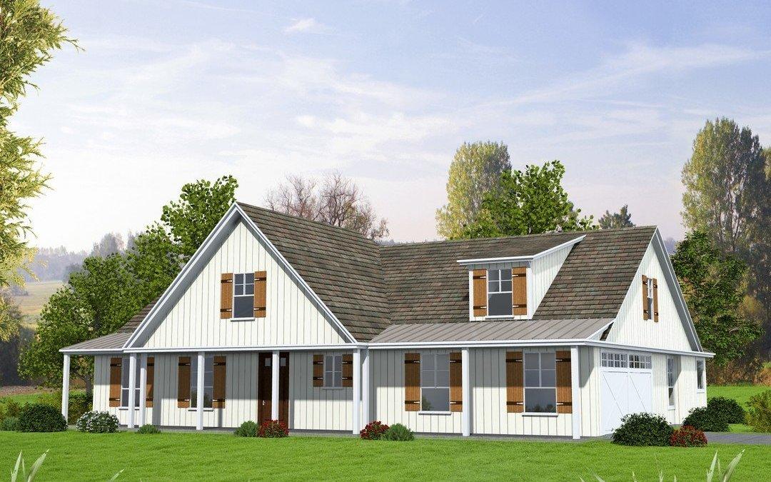Southern Home Plan 273-2294