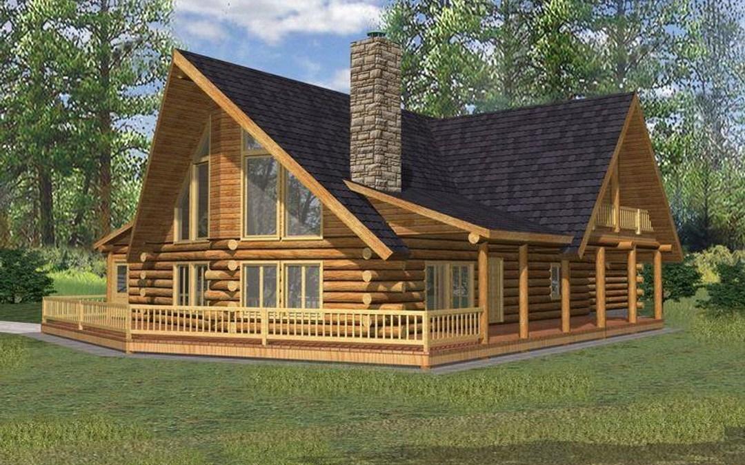 Log Home 001-1070