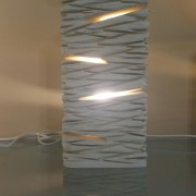 Table lamp - stone carving handcraft