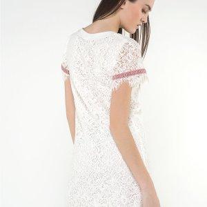 macramé white dress