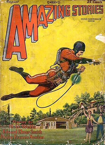 Amazing Stories August 1929 Siegel Amp Shuster Mythmakers