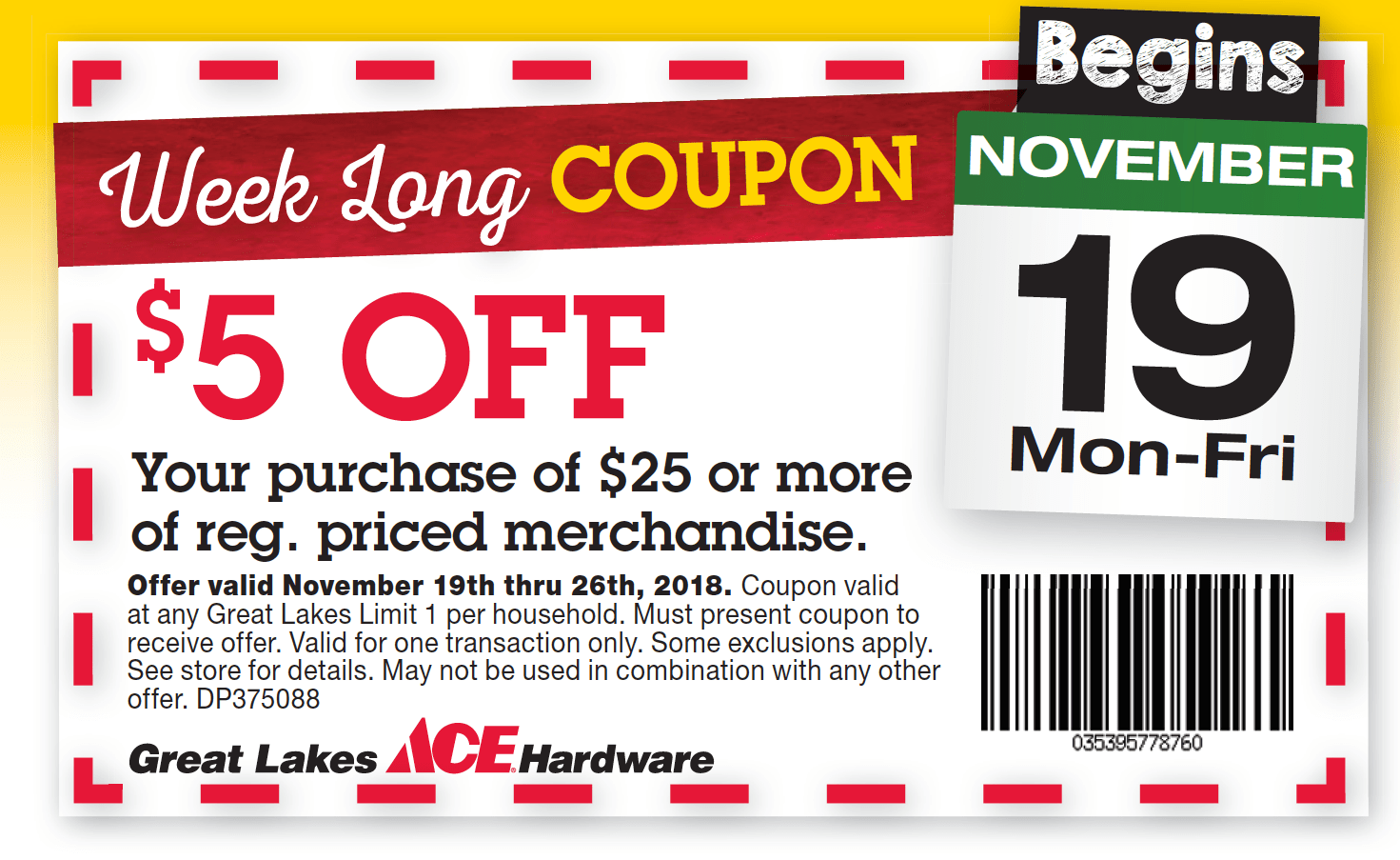 hight resolution of week long black friday coupon