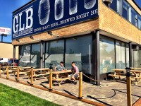 Great Lakes Brewery - Take a load off on our new brewery patio