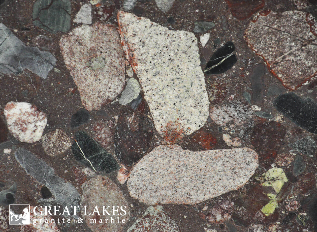 colored kitchen sinks how much are new cabinets red marinace granite - great lakes & marble