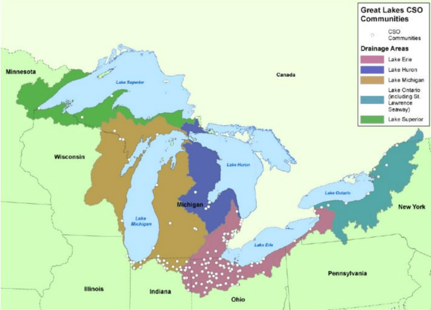 Green Vs Gray How Can Trees Clean Up The Great Lakes