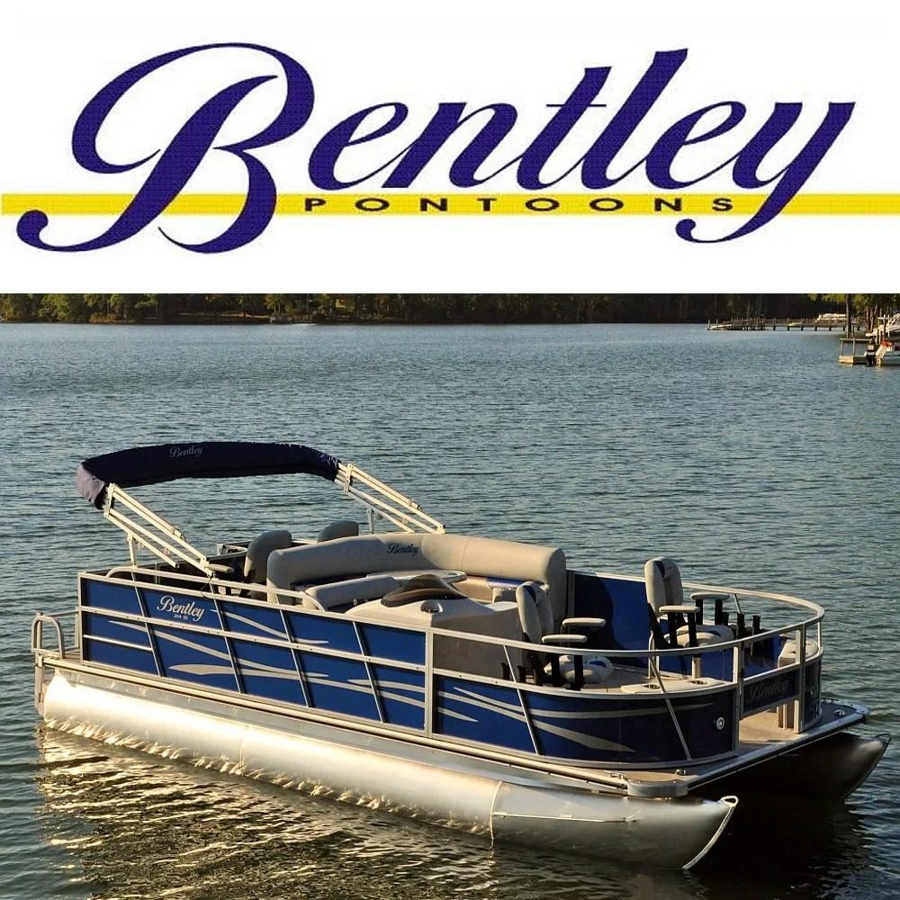 hight resolution of bentley pontoons