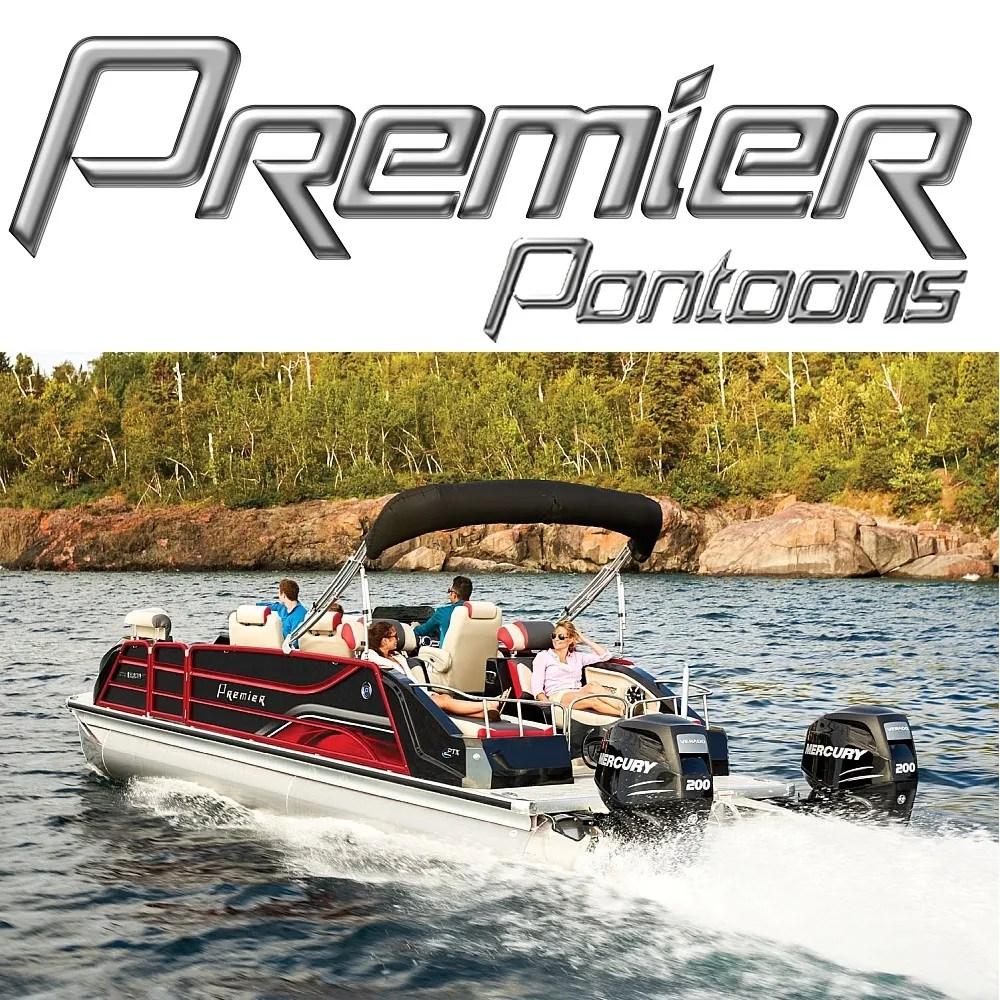 medium resolution of premier pontoon boats