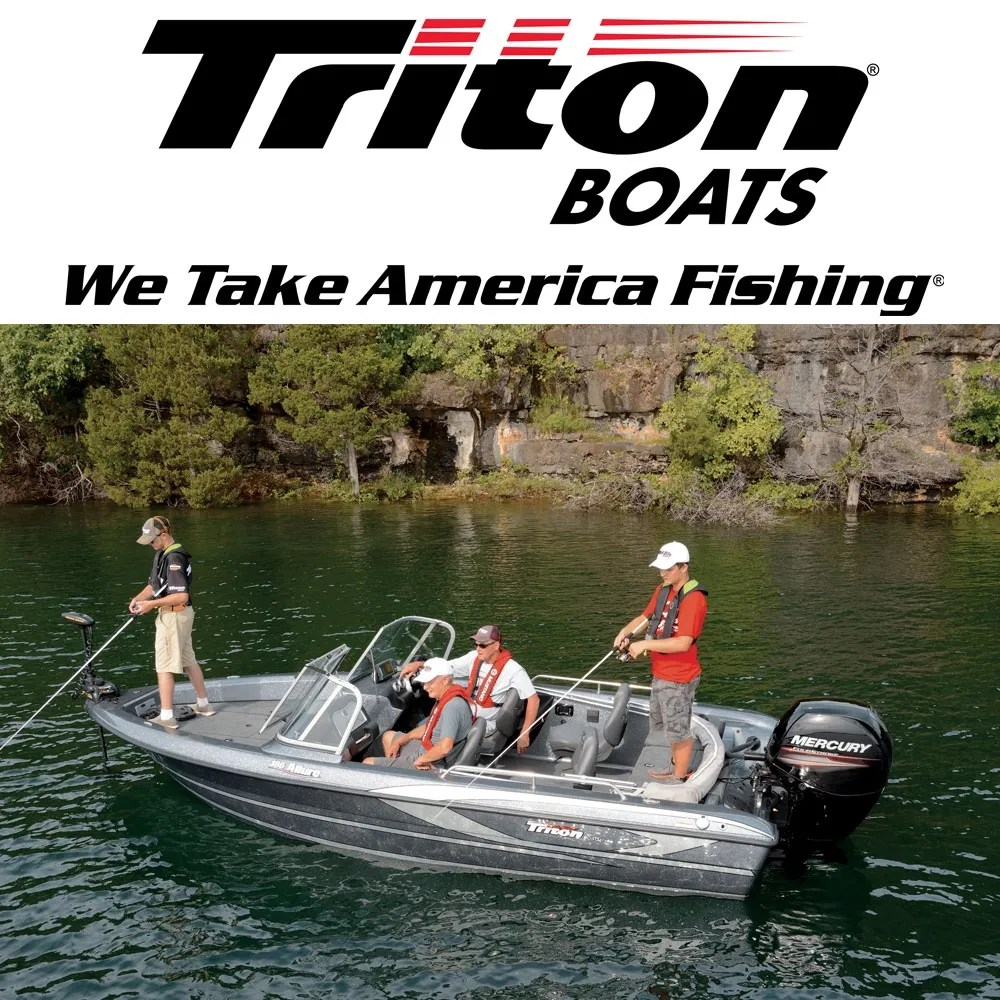 hight resolution of triton boats