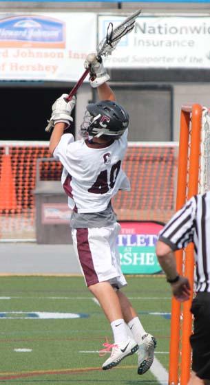 Robbie Zonino Conestoga Pioneers Michigan Wolverines Lacrosse
