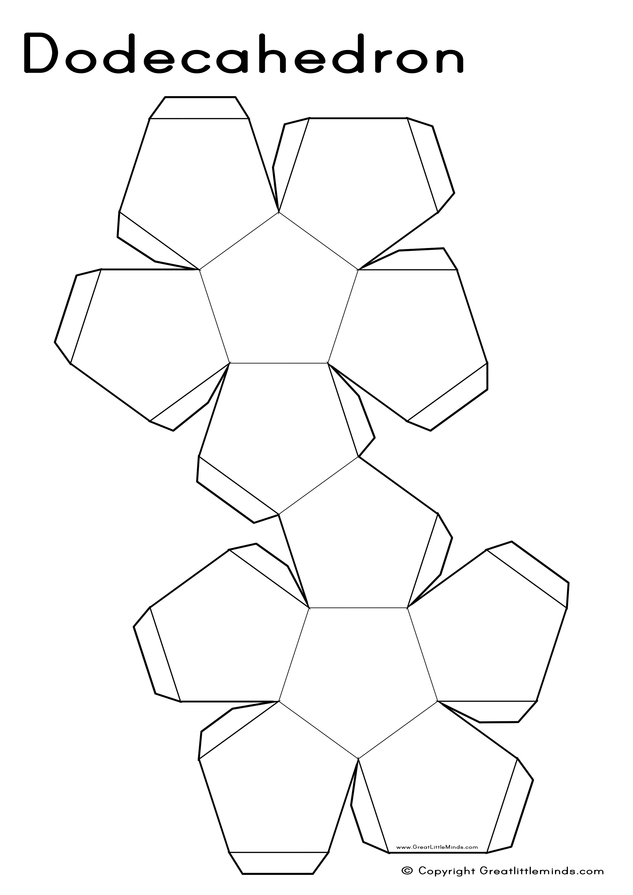 Properties Of A Dodecagon Images