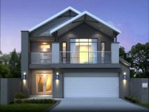 Small 2 Story Modern House Designs