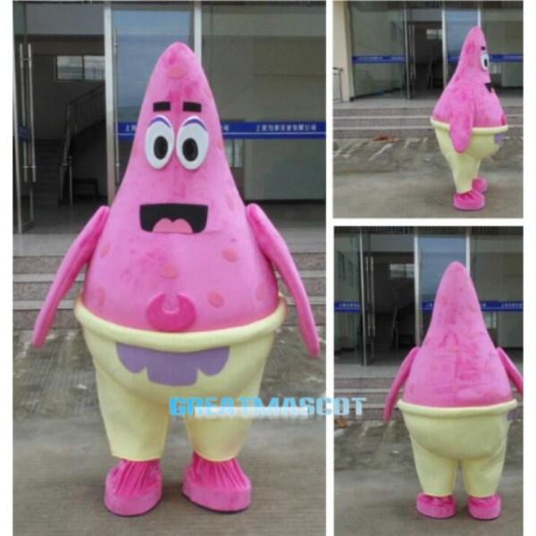 Spongebob and Patrick Star Costume