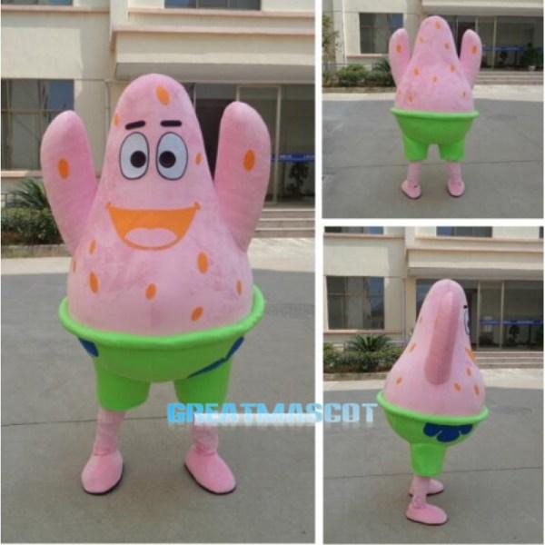 Patrick Star Mascot Costume