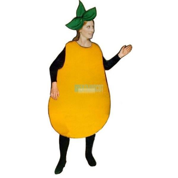 Pear Lightweight Mascot Costume