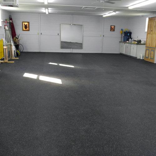 Rubber Flooring Rolls 14 Inch 10 Confetti  Gym Rubber