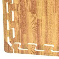 Wood Foam Tiles - Faux Wood Foam Floors, Basement Flooring