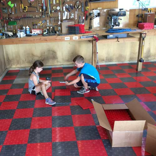 Choosing The Best Garage Floor Tiles