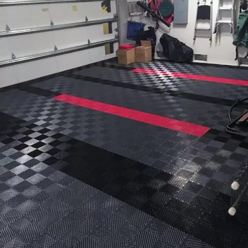 are garage floor tiles mats any good