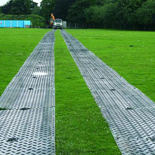 MatPak Ground Protection 3x8 ft Black  AlturnaMats