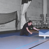 Gym Floor Carpet Covering - Protective Carpet Tile, Gym ...