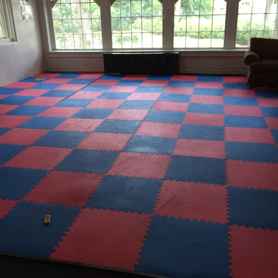 Soft Tiles  Jumbo Soft Tile 1 Inch Interlocking Sport