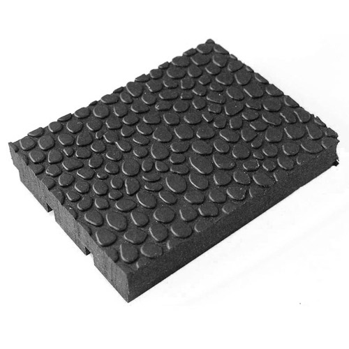 Horse Stall Mats  Rubber Pebble Top Stall Mats 4x6 Ft x