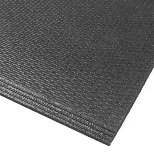 Rubber Home Gym Flooring Tile  Rubberlock 2x2 ft 38 Inch