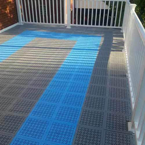 staylock tile perforated colors