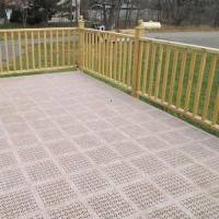 Decking Tiles - Outdoor PVC Deck Tiles, StayLock Deck Floor
