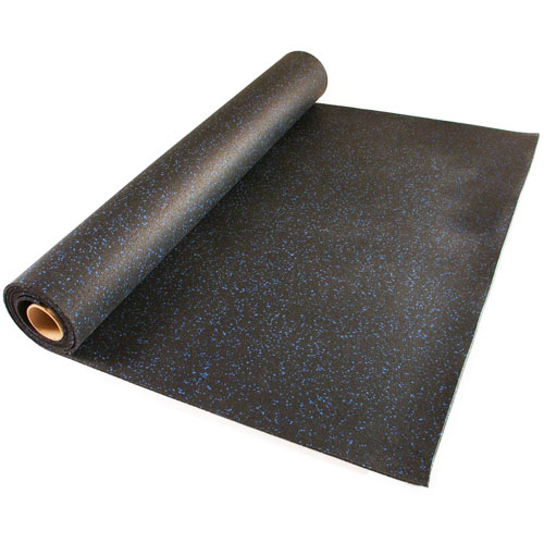 Home Rubber Flooring Roll  4x10 ft x 14 inch Home