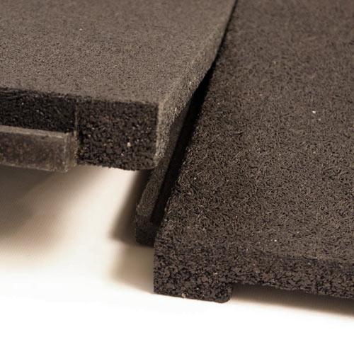 Patio Rubber Floor Tile  Sterling Patio Flooring 2 inch