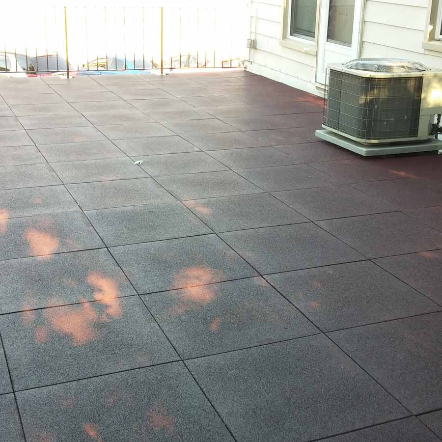 Patio Rubber Floor Tile