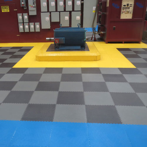 Warehouse Flooring Tiles  PVC Coin Top Warehouse Industrial Floors