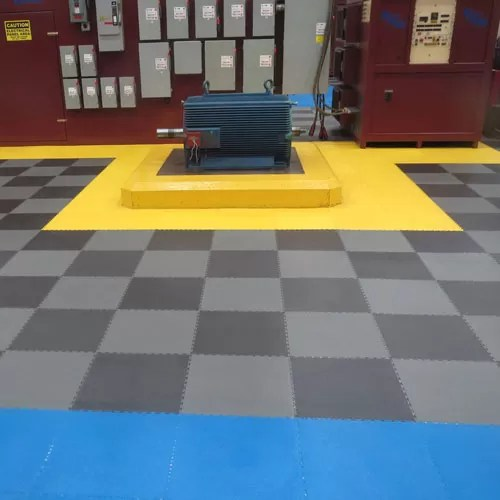 pvc coin top industrial tiles