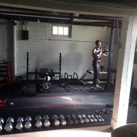 Weight Room Flooring - Rubber Weight Room Floor 2x2 ft ...