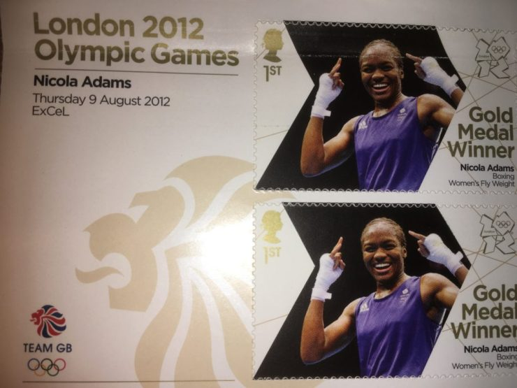 Nicola Adams and her wonderful smile