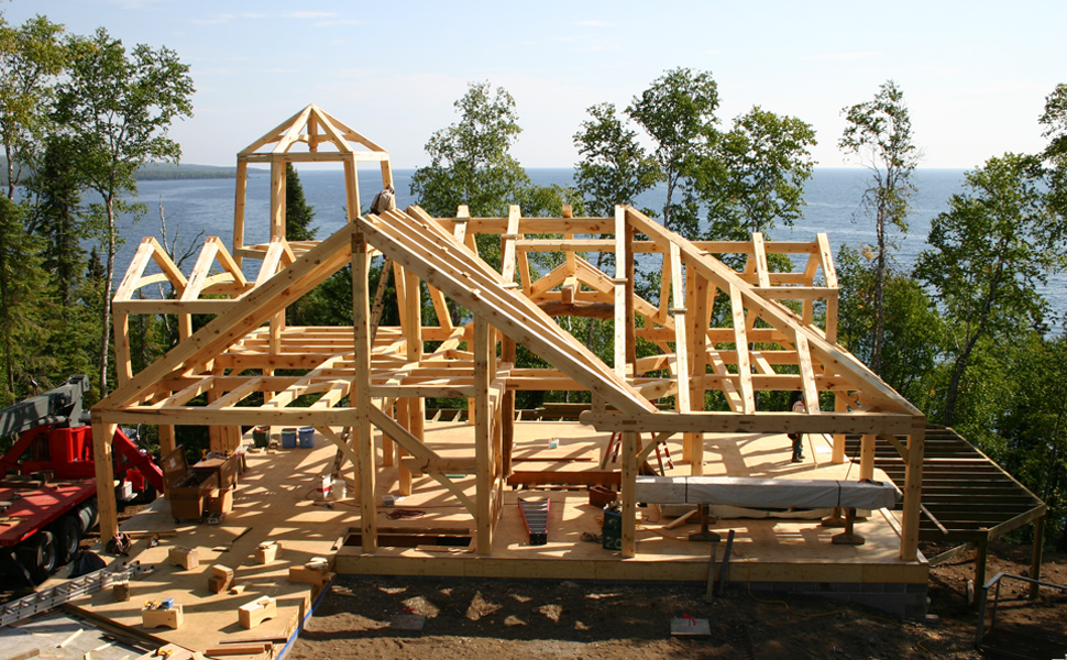 Timber Frame Home Designs And Floor Plans Examples Great