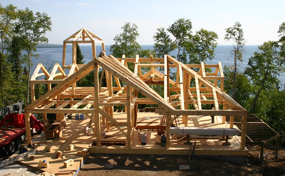 Custom Timber Frame Home Design & Construction Minnesota Great