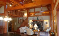 Timber Frame Home Designs and Floor Plans Examples