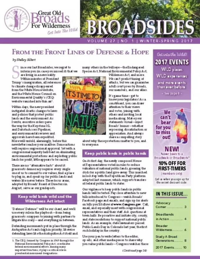 thumbnail of Winter-Spring 2017 Broadsides