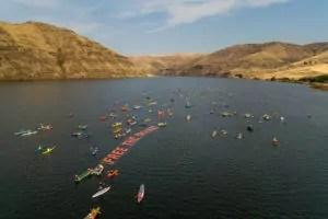 Free the Snake Flotilla Wawawai Landing to Lower Granite Dam © 2015 Moonhouse