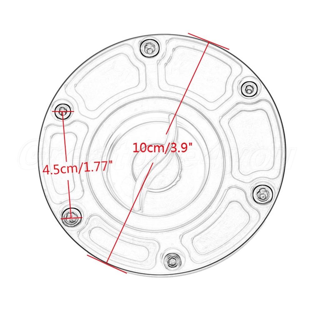 Motorrad CNC Keyless Gas Cap Tankdeckel für Triumph Speed