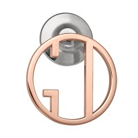 14K Rose Gold Lapel & Tie Pin (size of a dime)
