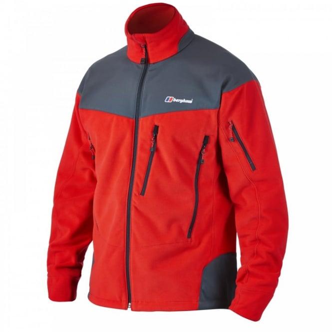 The Berghaus Mens Extreme Red Choktoi Fleece Jacket