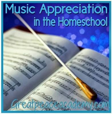 Homeschool Music Appreciation Curriculum