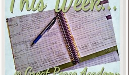 This Week… Homeschool Week Complete
