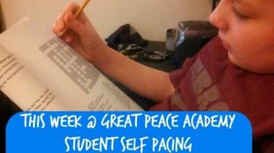 Homeschool Student Self Pacing