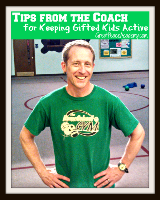 Keeping Gifted Kids Active, Tips from the Coach
